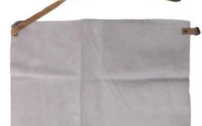 Buikschort splitleder 60 x 40 cm