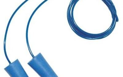 M-Safe 8010-D detectable oordop met koordje