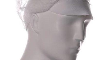 Baret model haarnet met klep