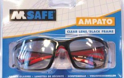 M-Safe Ampato veiligheidsbril in blisterverpakking