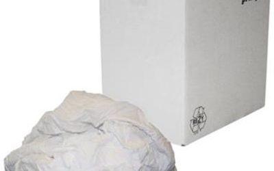 Witte tricot poetslappen HK à 5 kg