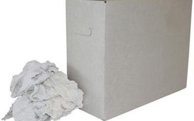 Witte tricot poetslappen HK à 9 kg