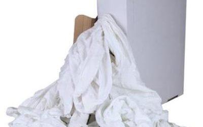 Witte Tricot Poetslappen à 5kg