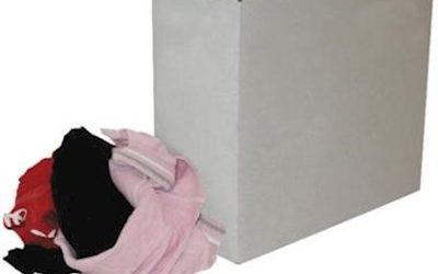 Bonte tricot poetslappen à 9 kg