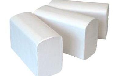 Handdoekpapier 2-laags cellulose